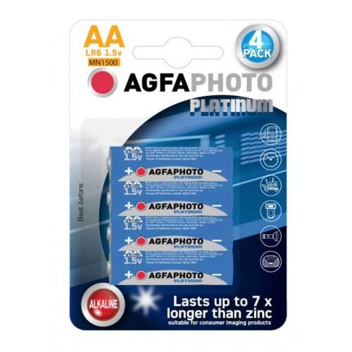 AgfaPhoto Platinum Alkaline AA LR6 (4τμχ)