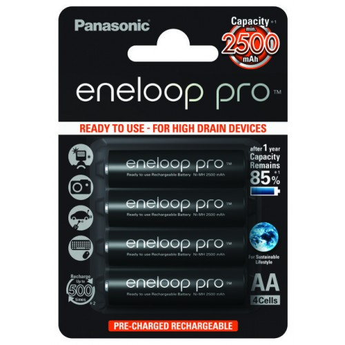 Panasonic Μπαταρία Eneloop Pro AA 2500mAh (4τμχ)
