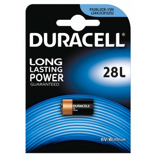 DURACELL Μπαταρία Λιθίου PX28L / 2CR11108 6V