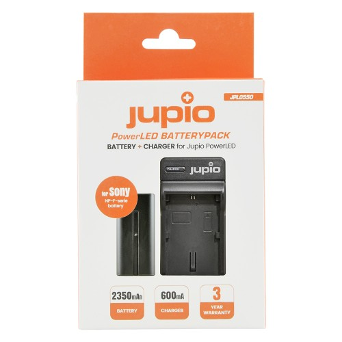Jupio PowerLED Batterypack F550 + Charger