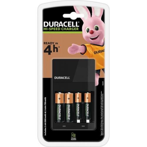 Duracell CEF14 + 2x AA 1300mAh + 2x AAA 750mAh