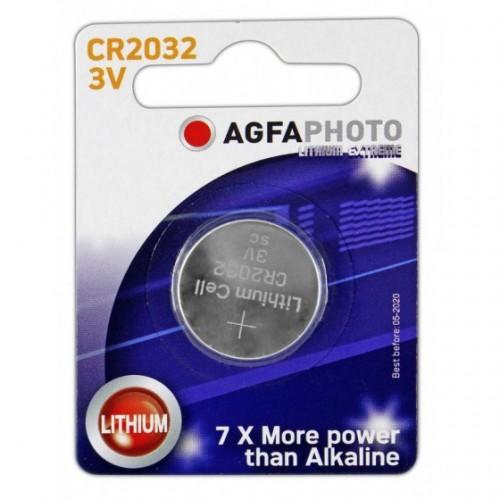 AgfaPhoto Μπαταρία Λιθίου CR2032 3V (1τεμ)