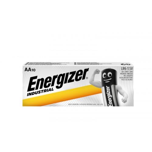 Energizer Industrial LR6/AA Alkaline Battery (10τμχ)