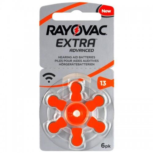 RAYOVAC Batterie Zinc Air 13 1.4V Extra Advanced PR48 6 pcs