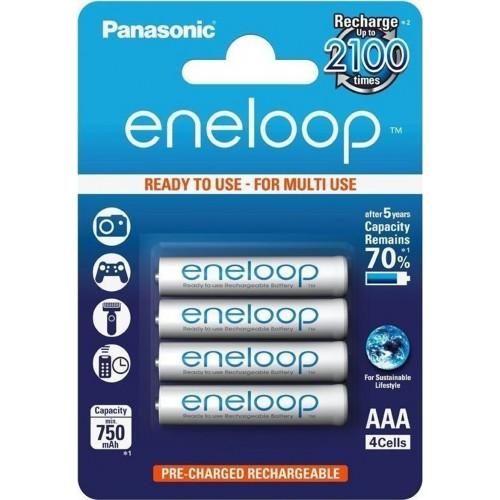 Panasonic Eneloop AAA 750mAh (4τμχ)