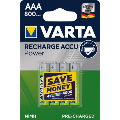 Varta Ready2Use AAA 800mAh (4τμχ)