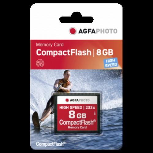 AgfaPhoto CF 8GB 233x High Speed