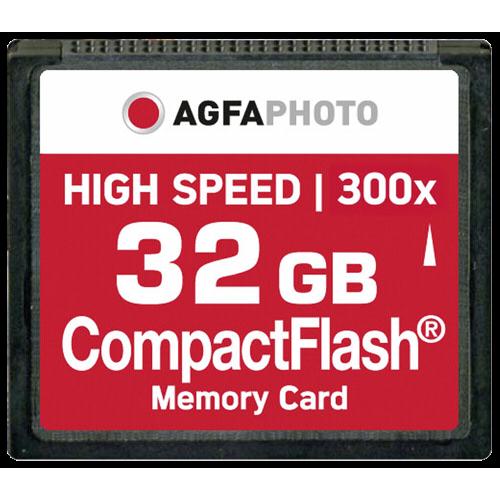 AgfaPhoto CF 32GB 300x High Speed