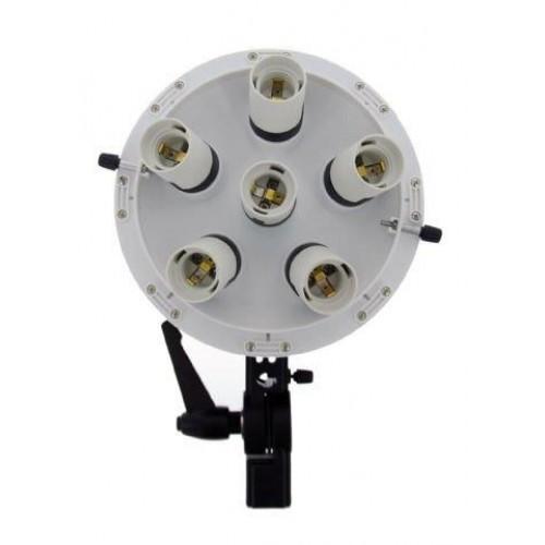 Falcon Eyes Lamp + Softbox 60x60cm LHD-B628FS 6x28W 290562