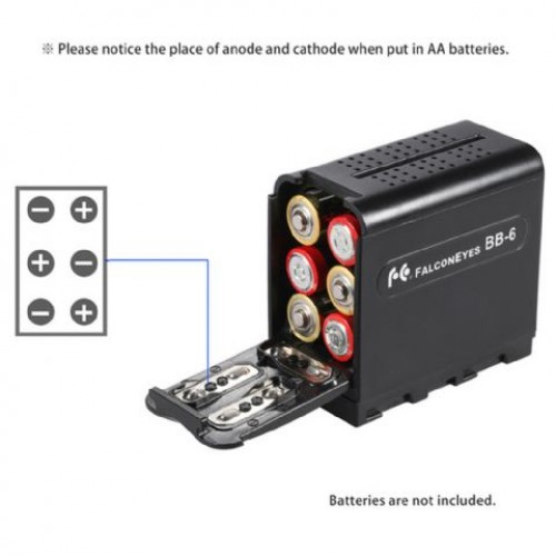 Falcon Eyes Battery Pack BB-06 2905954