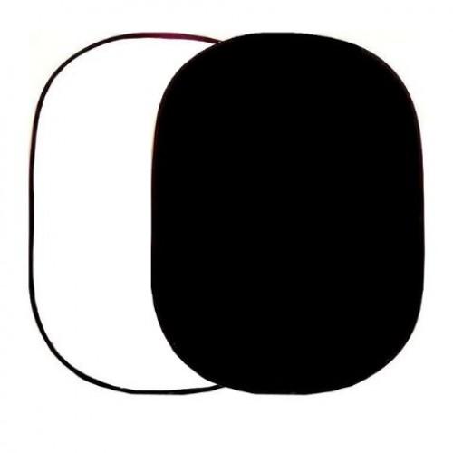 Falcon Eyes Background Board 2in1 White/Black 148x200 cm