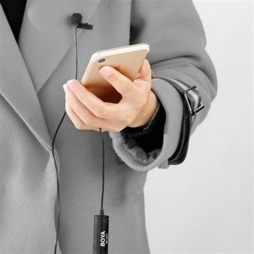 Boya Dual Clip-on Lavalier Microphone BY-M2D for iOS