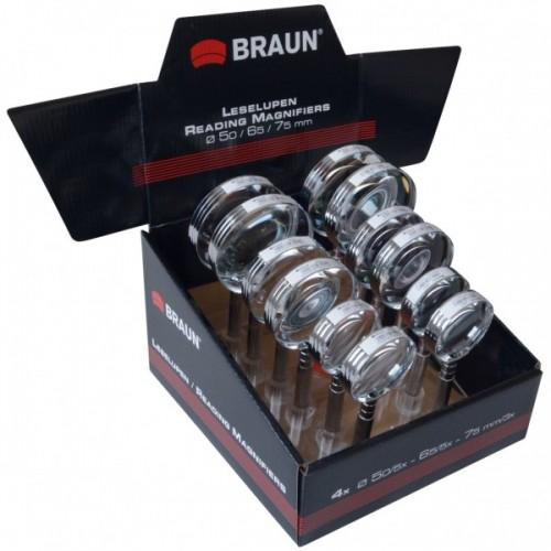 BRAUN Ultralit® Lupen-Display (12 pieces)