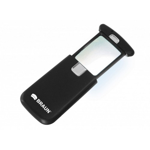 BRAUN Ultralit® LED Pocket Magnifier (3x)
