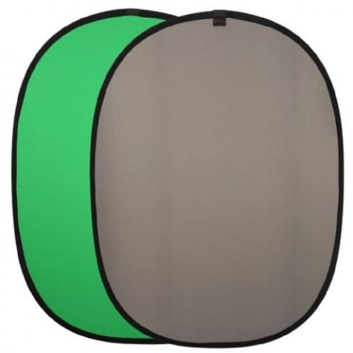 Linkstar Background Board R-1482BG Green/Grey 148x200 cm