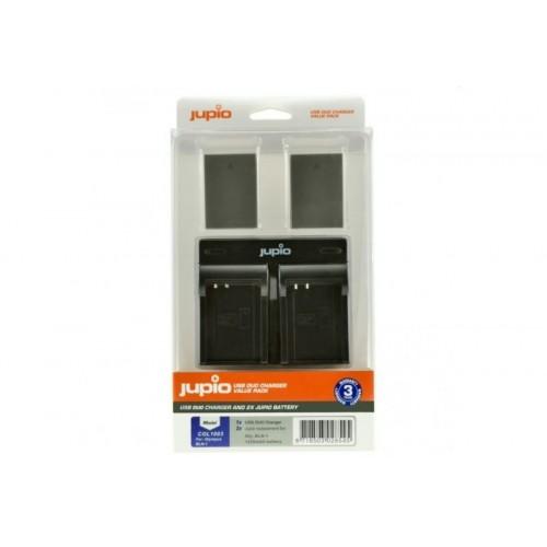 Jupio kit: 2x Battery PS-BLN1 + USB Dual Charger