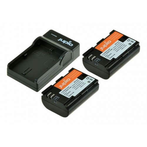 Jupio Kit: 2x Battery NP-FW50 1030mAh + USB Single Charger