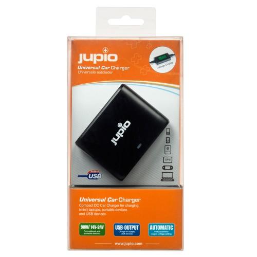 Jupio Universal Car Charger 90W + USB output JNC0035