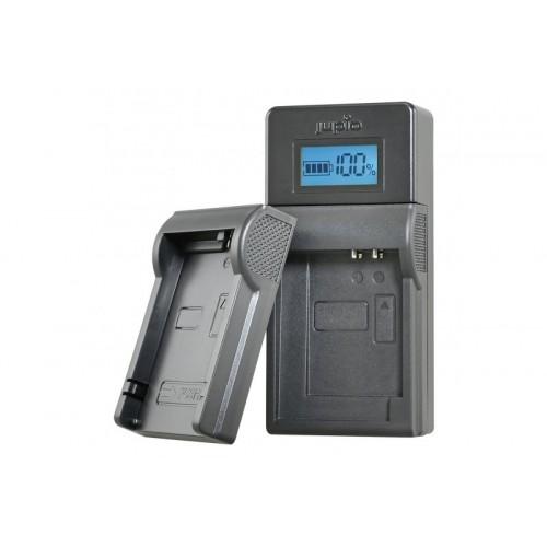 Jupio USB Brand Charger Kit for Canon 3.6V-4.2V batteries LCA0034