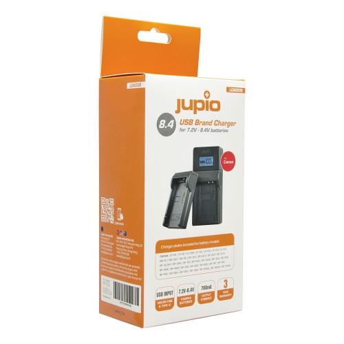 Jupio USB Brand Charger Kit for Canon 7.2V- 8.4V batteries LCA0038