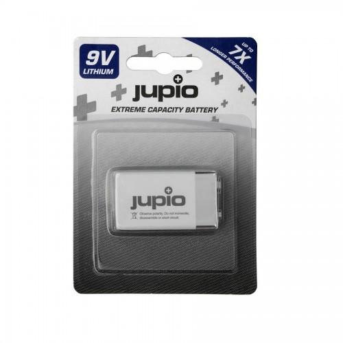 Jupio 9V Lithium battery 1200 mAh 1 pc