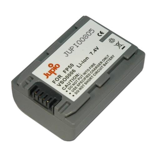 Jupio Μπαταρία NP-FP50 για Sony 700mAh