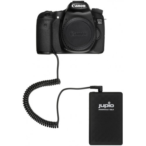 Jupio PowerVault DSLR for Canon LP-E6 28Wh/5600mah