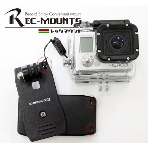 GoPro μανταλάκι στήριξης με περιστροφή 360