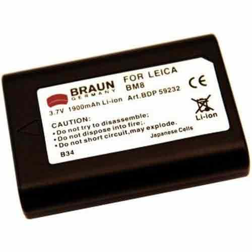 Braun Μπαταρία BP-BM8 για Leica 1900mAh