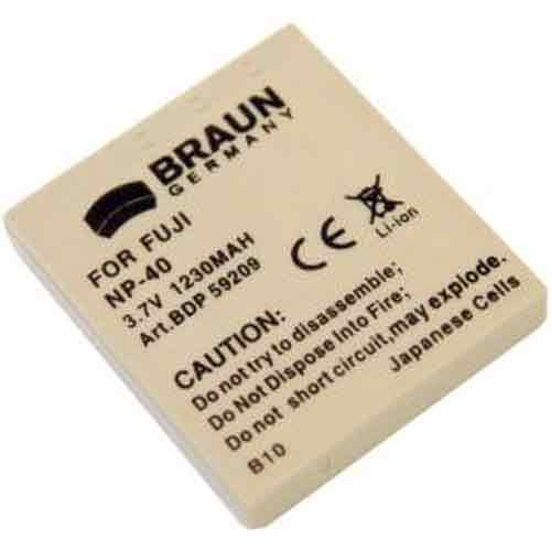 Braun Μπαταρία CGA-S004 για Panasonic 750mAh