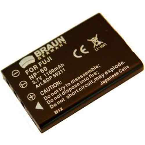 Braun Μπαταρία D-Li2 για Pentax 1100mAh