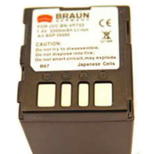 Braun Μπαταρία BN-V733U για Jvc 3300mAh